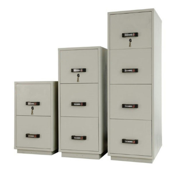 1 Hour Fire Rated Key Lock Filing Cabinet