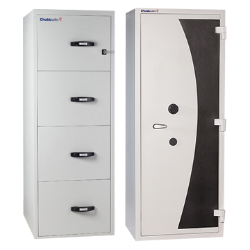FIRE RATED FILING CABINETS + CUPBOARDS